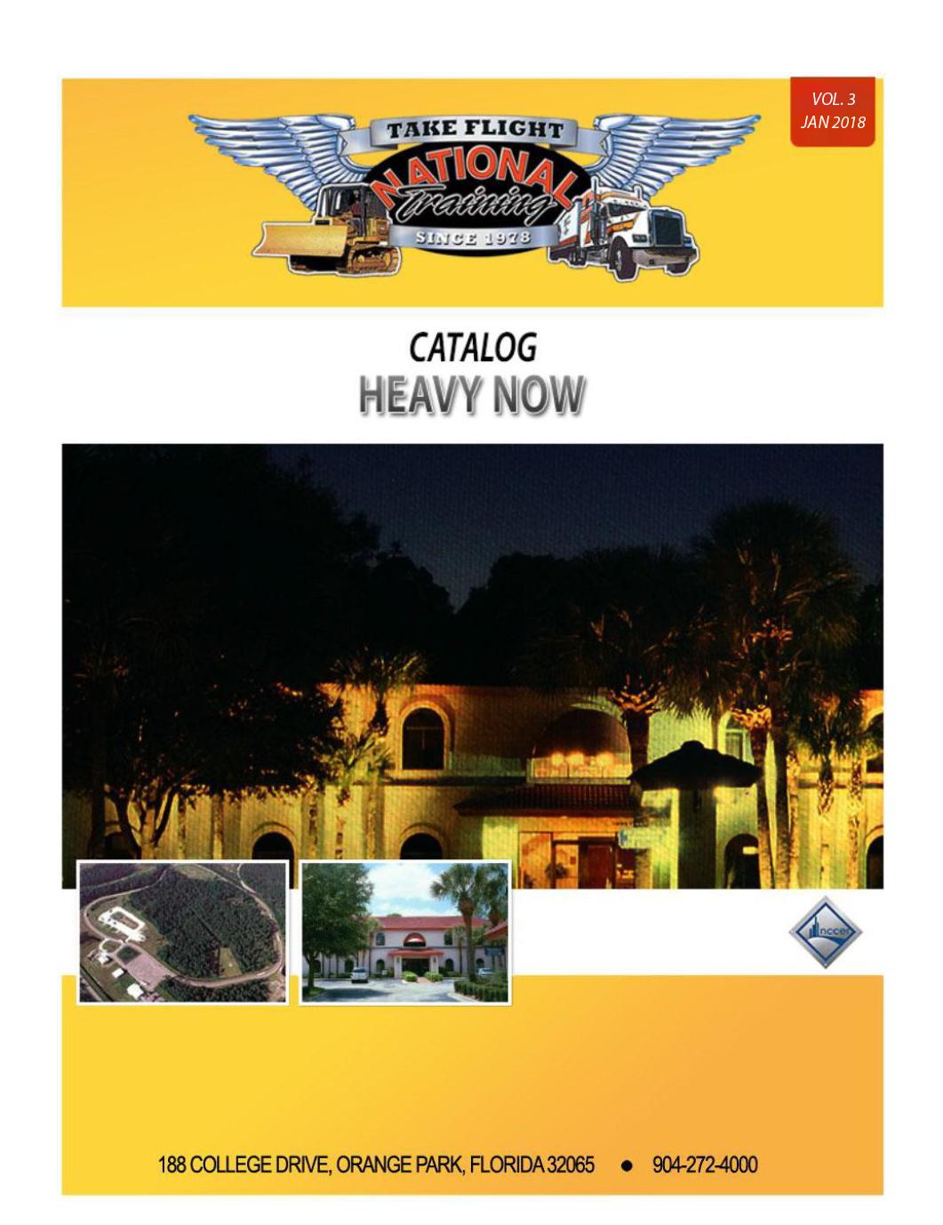 2018 School Catalog Cover