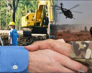 Heavy equipment operator training for veterans